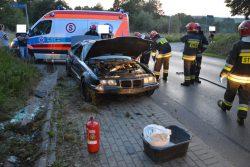 Wypadek na ul. Bielskiej
