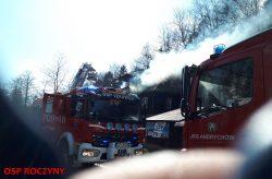 Pożar budynku mieszkalnego …