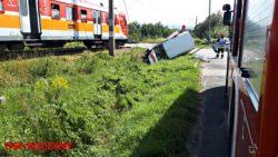Zderzenie z pociągiem w Andrychowie …