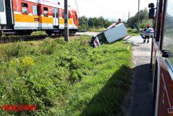 Zderzenie z pociągiem w Andrychowie ...