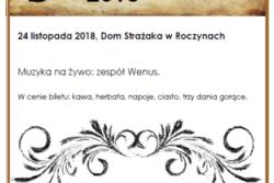 Andrzejki 2018 - Serdecznie zapraszamy :)
