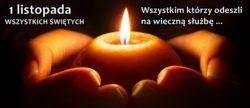Światełko dla tych którzy odeszli …