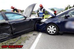 Zderzenie samochodów na ul.Bielskiej ...