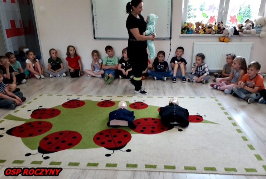 Wizyta u przedszkolaków ...