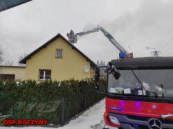 Pożar i zabezpieczenie terenu działań JRG …